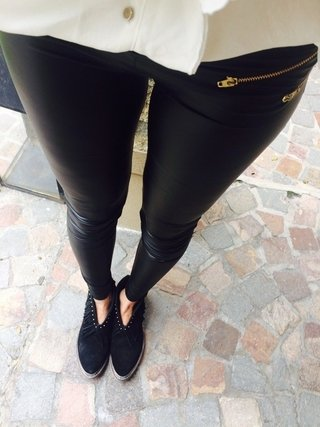 Leggings engomadas