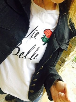 Remera Belle Rose en internet
