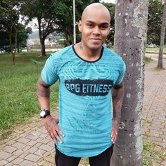 Camiseta dry fit verde rpg fitness
