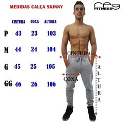 Calça Skinny Verde Gym Club na internet