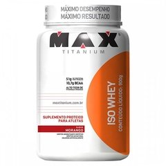 Iso whey 900g max - comprar online