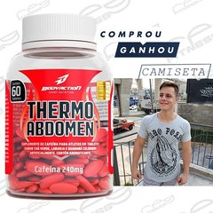 Thermo abdomen 60caps bodyaction