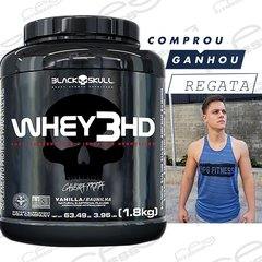 Whey 3hd 1,8kg black skull com regata