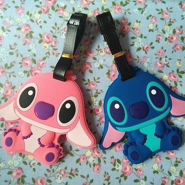 ♡ STITCH TRAVEL TAG ♡ - Unibow Store