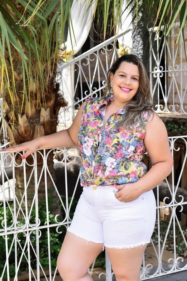 Short Jeans Plus Size Leticia