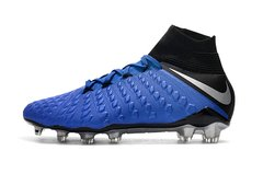 Chuteira Nike Hypervenom Phantom 3 Campo Original Blue - Sport Shoes