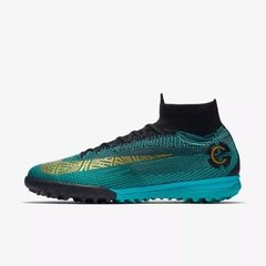 Chuteira Society NIke SuperflyX 6 Elite Cr7 Protugal Edition Limited Profissional - Sport Shoes