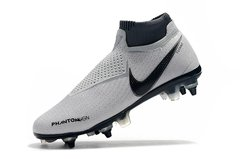 Chuteira Nike Phantom Vision Elite Trava Mista SG  Raised on Concrete Profissional na internet