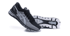 Tênis Asics Gel Quantum 360 Black White Original - Sport Shoes