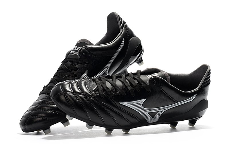 new products 8b491 a56e0 Chuteira Mizuno Morelia Neo 2 Made in Japan MD Profissional Couro de  Canguru Black