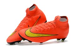 Chuteira Nike Mercurial Superfly 360 Elite Campo Original Orange World Cup 2014