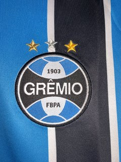 Camisa do Grêmio 2019/2020 s/nº Torcedor Umbro Masculino Original - Sport Shoes