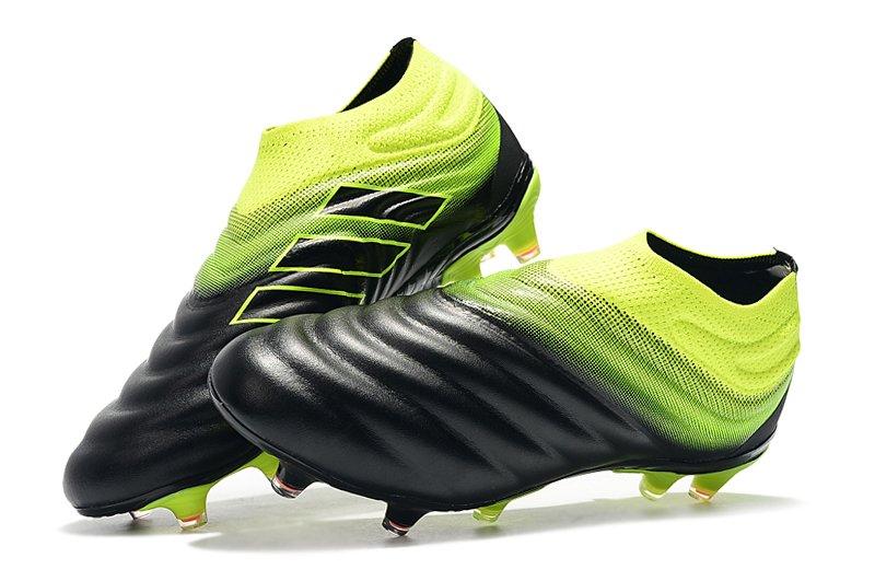 2f156583e1a04 Chuteira Adidas Copa 19.0 Black Green Campo Original Couro (Bolsa + Par de  Meião de Brinde)