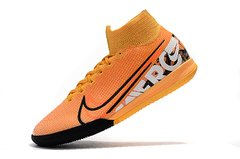 Chuteira Nike Mercurial Superfly 7 Elite Futsal Yellow Original - Sport Shoes