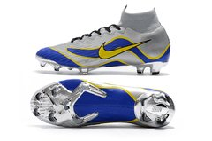 Chuteira Nike Mercurial Superfly 360 Elite R9 Campo Original Silver World Cup 1998 - loja online