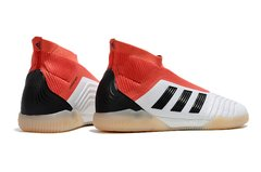 Chuteira Futsal Adidas Predator  18 Original White Red - Sport Shoes