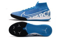 Chuteira Nike Mercurial Superfly 7 Elite Futsal Blue Original