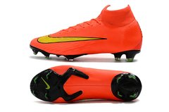 Chuteira Nike Mercurial Superfly 360 Elite Campo Original Orange World Cup 2014 - loja online
