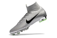 Chuteira Nike Mercurial Superfly 360 Elite Campo Original Silver World Cup 2002 na internet