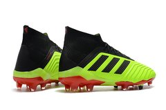 Chuteira Adidas Predator 18.1 Yellow Campo Original - Sport Shoes