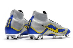 Chuteira Nike Mercurial Superfly 360 Elite R9 Campo Original Silver World Cup 1998 - Sport Shoes