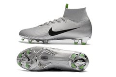 Chuteira Nike Mercurial Superfly 360 Elite Campo Original Silver World Cup 2002 - loja online