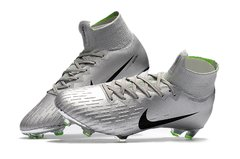 Chuteira Nike Mercurial Superfly 360 Elite Campo Original Silver World Cup 2002