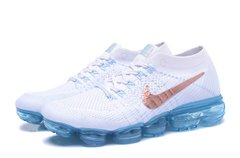 Tênis Nike Air Vapormax Masculino Whithe Blue - Sport Shoes
