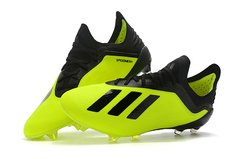 Chuteira Adidas X 18.1 Campo Profissional  Yellow Black - comprar online