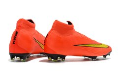 Chuteira Nike Mercurial Superfly 360 Elite Campo Original Orange World Cup 2014 - Sport Shoes