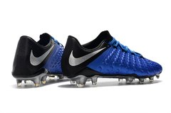 Chuteira Nike Hypervenom Phantom 3 Elite Campo Original Blue - Sport Shoes