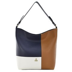 2416-02 - Bolsa Ivete Floater Eclipse + Branco + Taupe