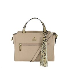 2418-01 - Bolsa Jenifer Bali Bistrô + Snake Light Tan