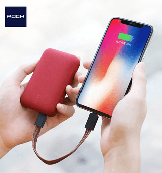 Mini Power Bank de 10000mAh - ROCK