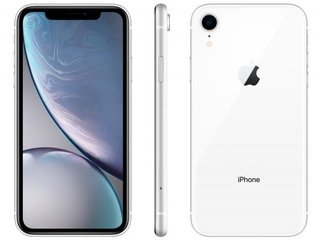 "iPhone XR Apple  64GB, Tela Retina LCD de 6,1"", iOS 12, Câmera Traseira 12MP, IP68"