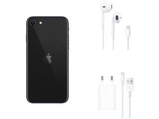 "iPhone SE Apple 64GB Preto 4,7"" 12MP - iOS"