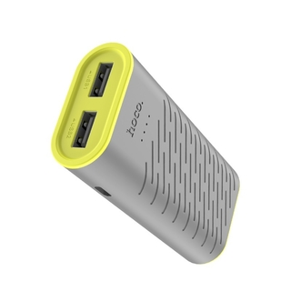 Power Bank  Hoco. com saída dupla USB de 5200mAh