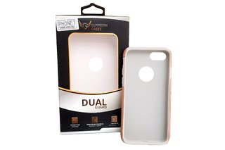 Case Guardian Dual Anti Impacto Iphone 7/8 Vermelha/ Dourado na internet