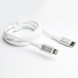 Imagem do Cabo MFI lightning iWill Hard Cable Silver Nylon