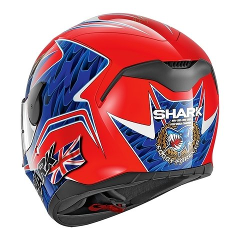 CAPACETE SHARK D-SKWAL FORGATY REPLICA RBB - comprar online