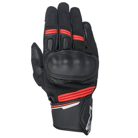 LUVAS ALPINESTARS LUVA BOOSTER BLACK RED