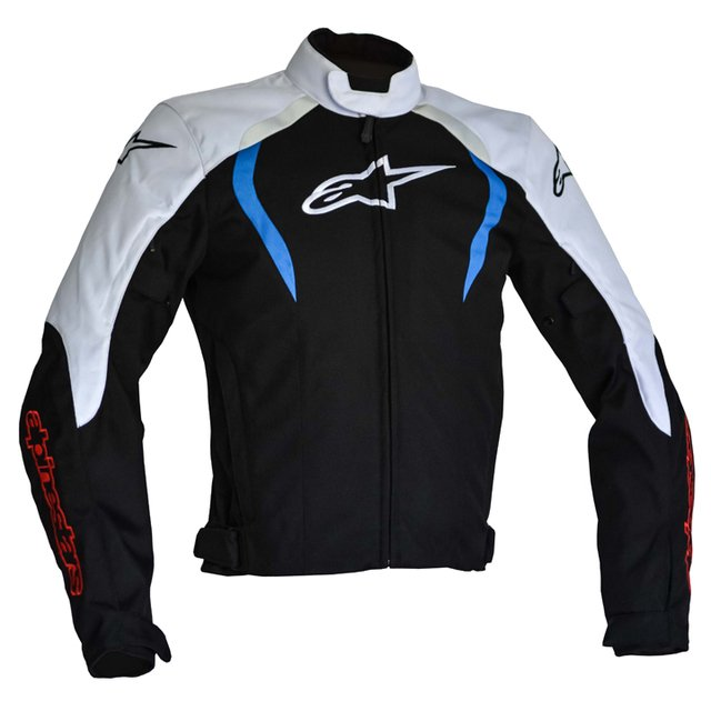JAQUETA ALPINESTARS ALUX WP - BLACK - WHITE - BLUE