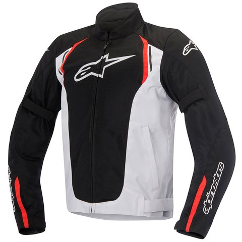 JAQUETA ALPINESTARS AST AIR -BLACK - WHITE - RED - comprar online