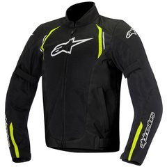 JAQUETA ALPINESTARS AST AIR - BLACK YELLOW FLUO