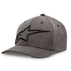 BONÉ ALPINESTARS TOPPER CURVE - CHARCOAL HEATHER