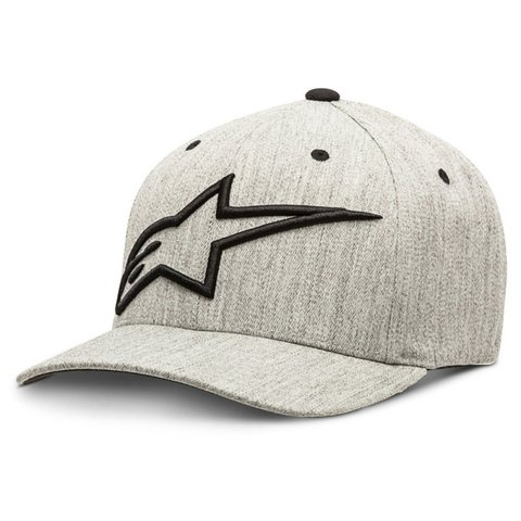 BONÉ ALPINESTARS TOPPER CURVE - GREY HEATHER