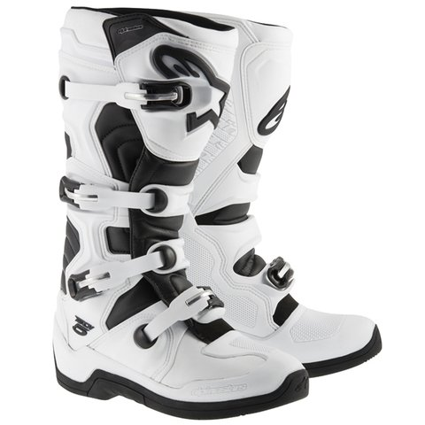 BOTA ALPINESTARS TECH 5 OFF ROAD - WHITE - BLACK