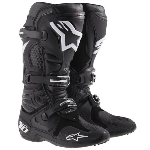 BOTA ALPINESTARS TECH 10 OFF ROAD - BLACK WHITE