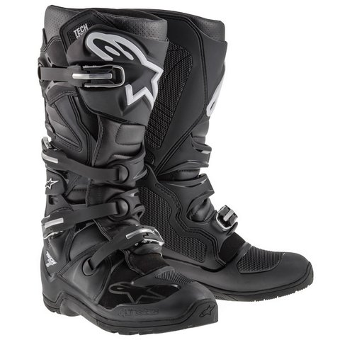 BOTA ALPINESTARS TECH 7 ENDURO  OFF ROAD - BLACK