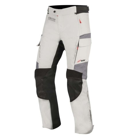 CALÇA ALPINESTARS ANDRES V² DRYSTAR - LIGHT GRAY BLACK DARK GRAY